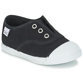Shoes Children Low top trainers Citrouille et Compagnie RIVIALELLE Black