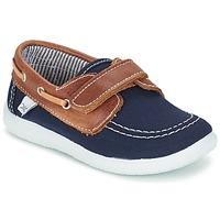 Shoes Boy Boat shoes Citrouille et Compagnie GASCATO Marine / Brown