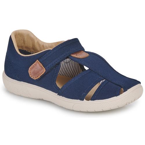Shoes Boy Sandals Citrouille et Compagnie GUNCAL Marine