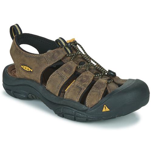 Shoes Men Outdoor sandals Keen NEWPORT Brown