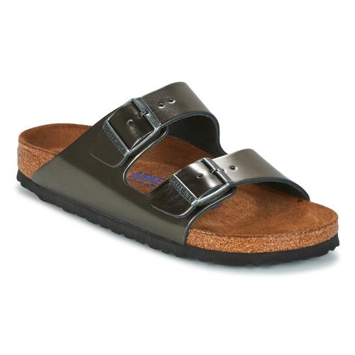 Shoes Women Mules Birkenstock ARIZONA Anthracite