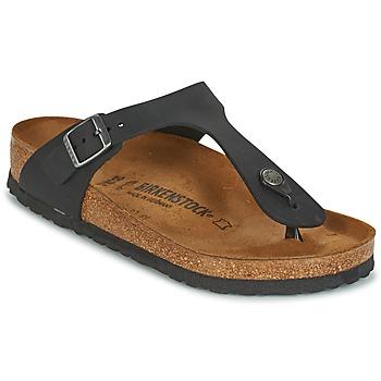 Shoes Women Flip flops Birkenstock GIZEH Black