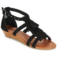 Shoes Women Sandals Minnetonka MARINA Black