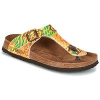 Shoes Women Flip flops Papillio GIZEH Yellow