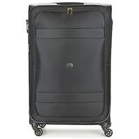Bags Soft Suitcases Delsey INDISCRETE 4R 78CM Black