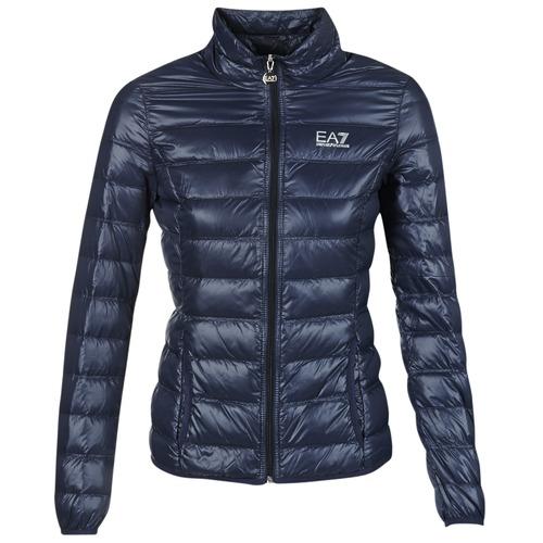 Clothing Women Duffel coats Emporio Armani EA7 TRAIN CORE Marine