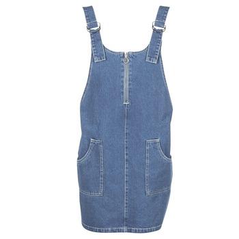Clothing Women Short Dresses Noisy May DEAN Blue / MEDIUM
