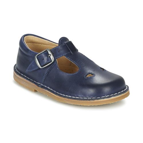 Shoes Children Flat shoes Citrouille et Compagnie GLARCO Blue