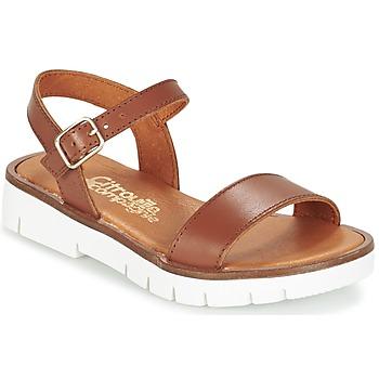 Shoes Girl Sandals Citrouille et Compagnie GLAPOTI CAMEL