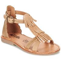 Shoes Girl Sandals Citrouille et Compagnie GAMELA CAMEL