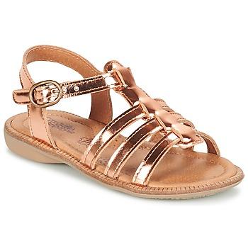 Shoes Girl Sandals Citrouille et Compagnie GROUFLA Bronze
