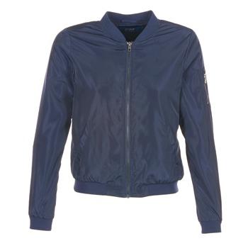 Clothing Women Jackets Only LINEA NYLON Marine