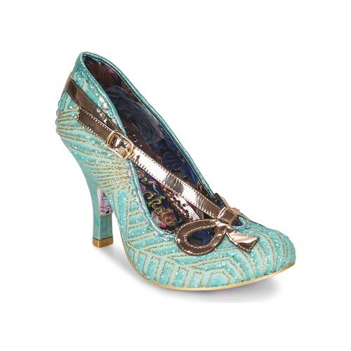 Shoes Women Heels Irregular Choice BUBBLES Green / Mint