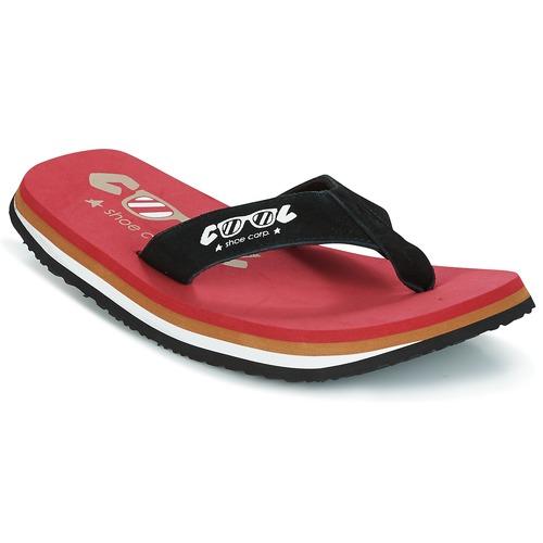 Shoes Men Flip flops Cool shoe ORIGINAL Red / Black
