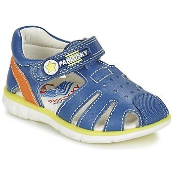 Shoes Boy Sandals Pablosky GUADOK Blue