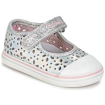 Shoes Girl Flat shoes Pablosky MEZINILE Silver