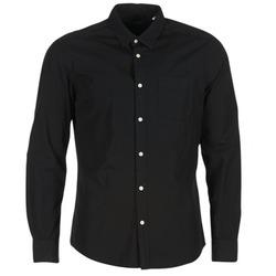 Clothing Men long-sleeved shirts Esprit FOVETTIO Black