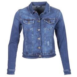 Clothing Women Denim jackets Esprit CROVETTA Blue / MEDIUM