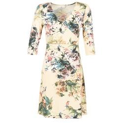 Clothing Women Short Dresses Cream ROSEMARY Multicoloured