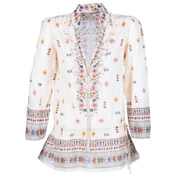 Clothing Women Tunics Derhy DETENTE Ecru