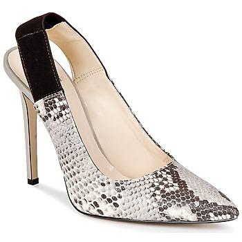 Shoes Women Heels Bata TALL Grey / Serpent