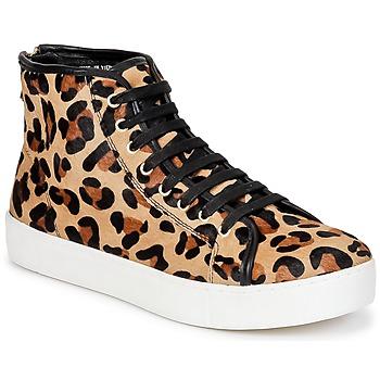 Shoes Women Hi top trainers North Star BEID Leopard