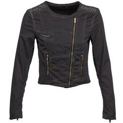 Clothing Women Jackets / Blazers Esprit PARKEL Black