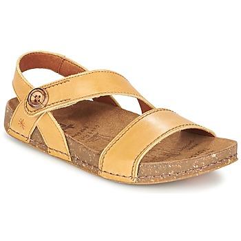Shoes Women Sandals Art WE WALK Camel