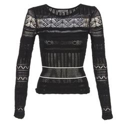 Clothing Women jumpers Morgan MARAI Black