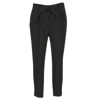 Clothing Women Wide leg / Harem trousers Morgan LIKI Black