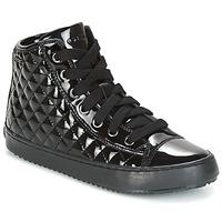 Shoes Children Mid boots Geox J KALISPERA G.F Black
