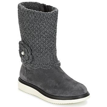 Shoes Girl High boots Geox J THYMAR G. F Grey
