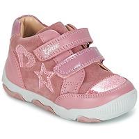 Shoes Girl Low top trainers Geox B N.BALU' G. C Pink