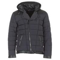 Clothing Men Duffel coats Le Temps des Cerises BEND Black