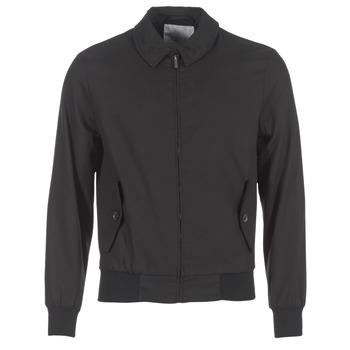 Clothing Men Jackets Casual Attitude HIBERNA Black