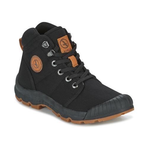 Shoes Women Low top trainers Aigle TENERE LIGHT W Black