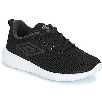 Shoes Boy Low top trainers Umbro DENFORD Black