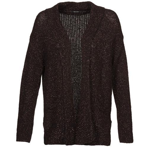 Clothing Women Jackets / Cardigans Kookaï BECCA Black