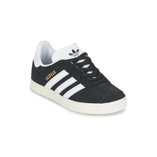 Shoes Children Low top trainers adidas Originals GAZELLE C Black