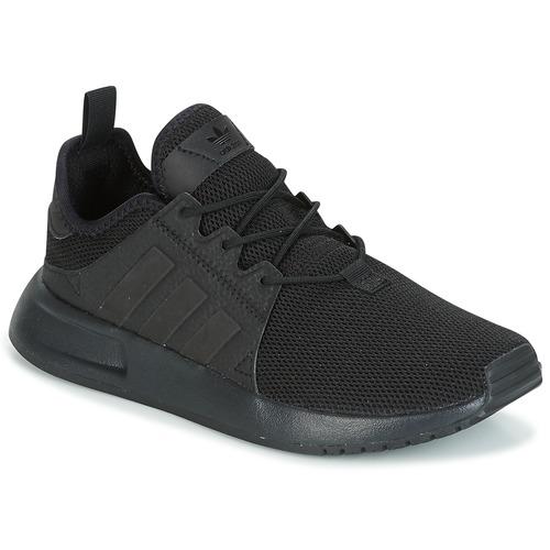 Shoes Children Low top trainers adidas Originals X_PLR Black