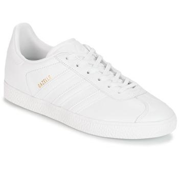 Shoes Children Low top trainers adidas Originals GAZELLE J White