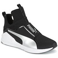 Shoes Women Hi top trainers Puma FIERCE core Black