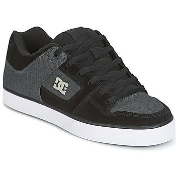 Shoes Men Skate shoes DC Shoes PURE SE Black / Grey
