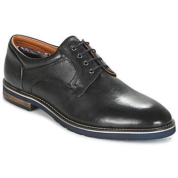 Shoes Men Derby Shoes Salamander VASCO-AW Black