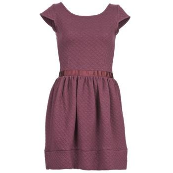 Clothing Women Short Dresses Naf Naf OHORTENSE Purple