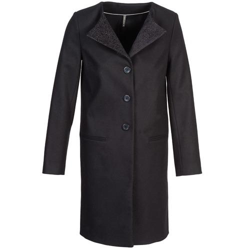 Clothing Women coats Naf Naf APATI Black