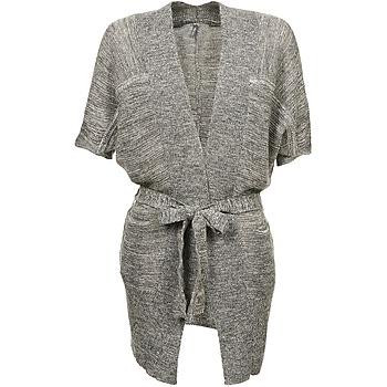 Clothing Women Jackets / Cardigans Naf Naf NADO Grey