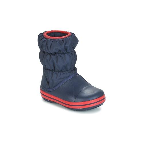 Shoes Boy Snow boots Crocs WINTER PUFF BOOT KIDS Marine