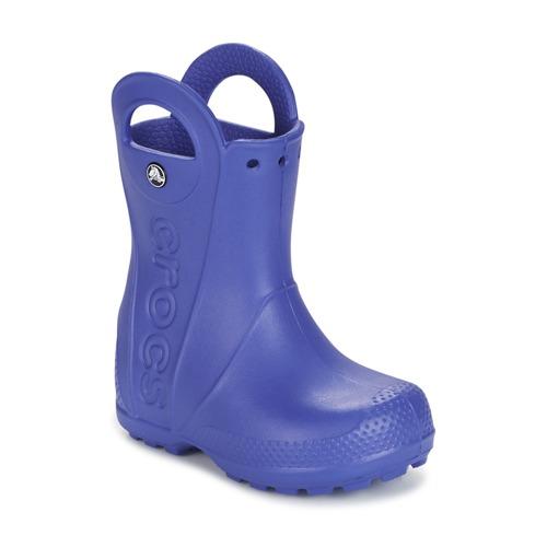 Shoes Children Wellington boots Crocs HANDLE IT RAIN BOOT Blue