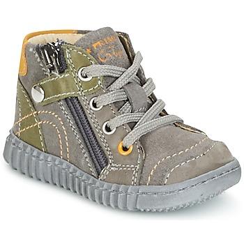 Shoes Boy Mid boots Primigi PSM 8028 Grey